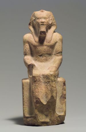 Seated Statue Of King Menkaure