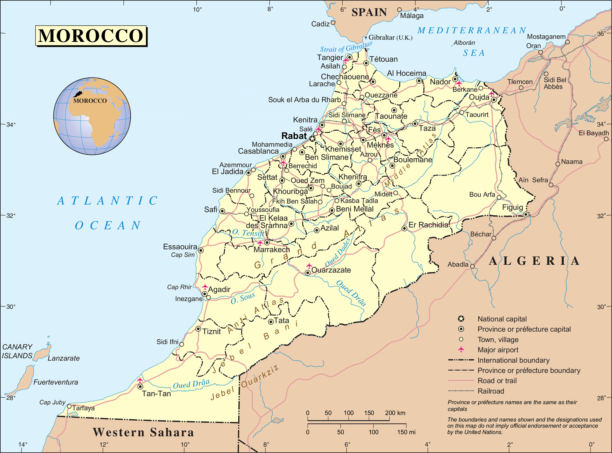 political-and-administrative-map-of-morocco