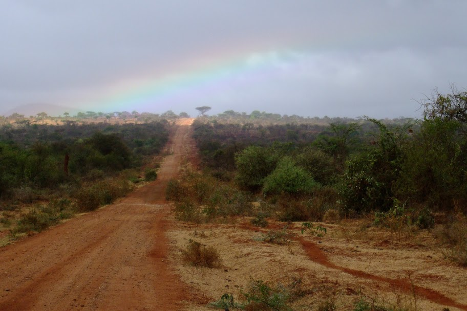 Rainbow near Yabello