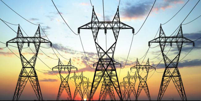 Power-transmission-pylons