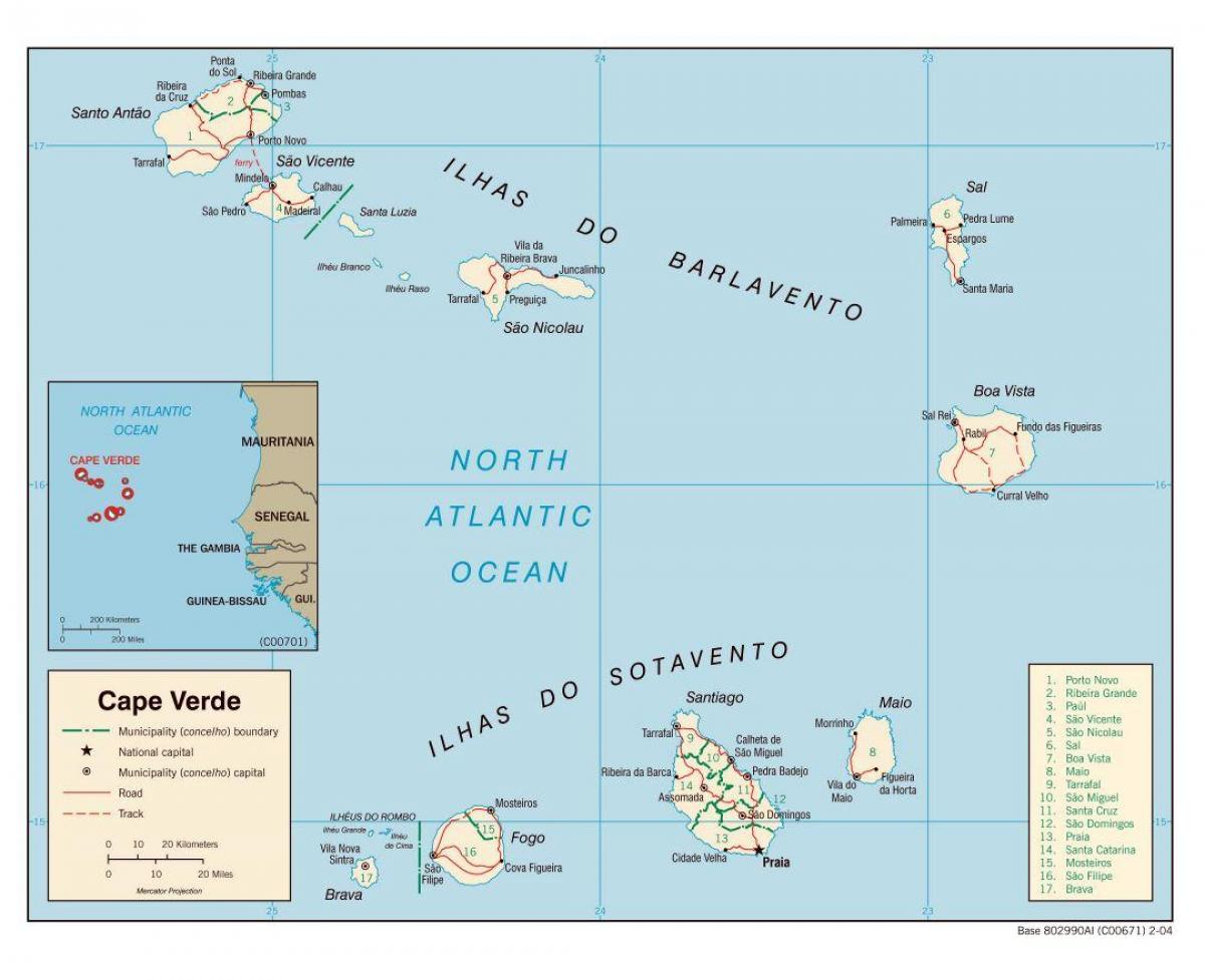 Map-of-cape-verde