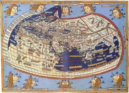 Ancient Ethiopia's on the Fra Mauro map