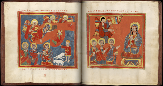 Ethiopian Sacred Book, The Nativity And The Adoration Of The Magi