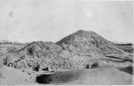 "Pyramid I. Tomb Of Tirhaqa Looking "" East"" (toward The Nile)"