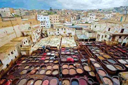 Morocco Fes Tanneries