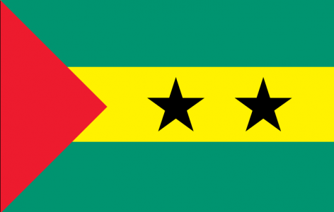Sao Tome And Principe Flag