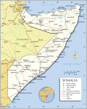 Somalia-political-map