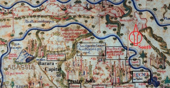 Ancient Abyssinia map - Addis Herald