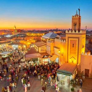 Things-to-do-Djemaa-el-Fna-square-dusk-Marrakech-Morocco-Africa-tn-l