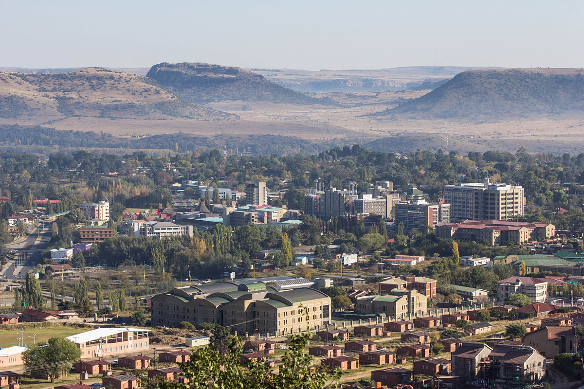 Maseru_from_Parliament_Hill