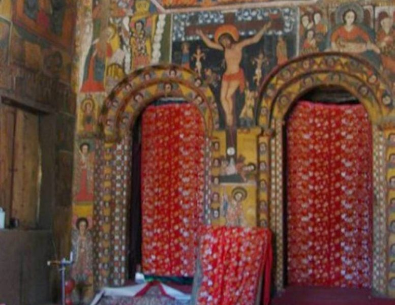 Debre Birhan Selassie Church Two visitor's attraction in Ethiopia-7