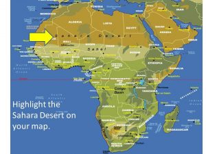 What is sub-Saharan Africa? It is not just a question of ...