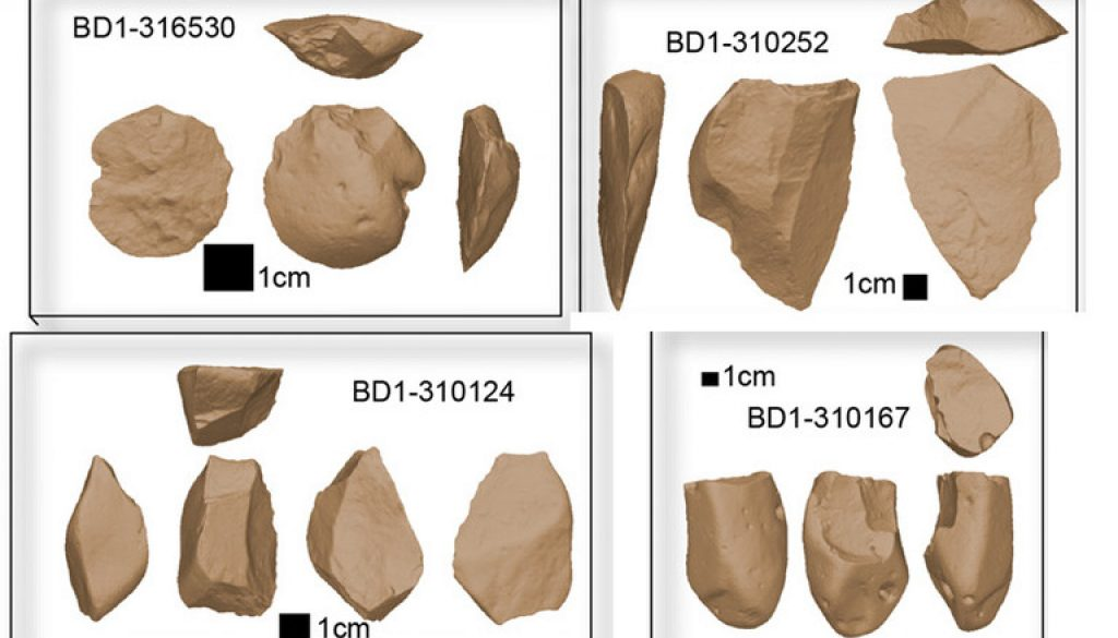 flaked-stone tools
