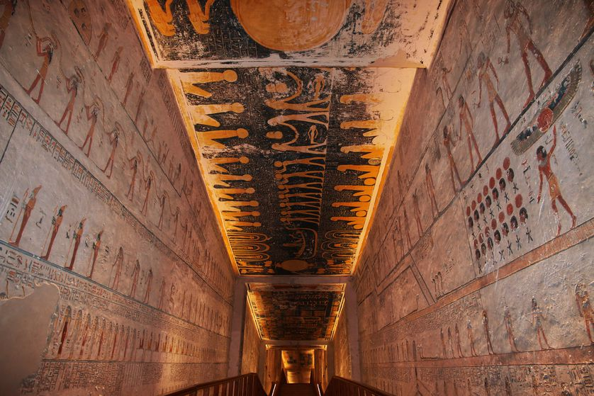 Necropolis at Valley of the Kings in Luxor, Egypt