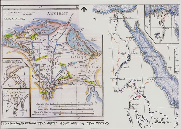 EGYPT AND THE NILE courtesy Cartography Unchained