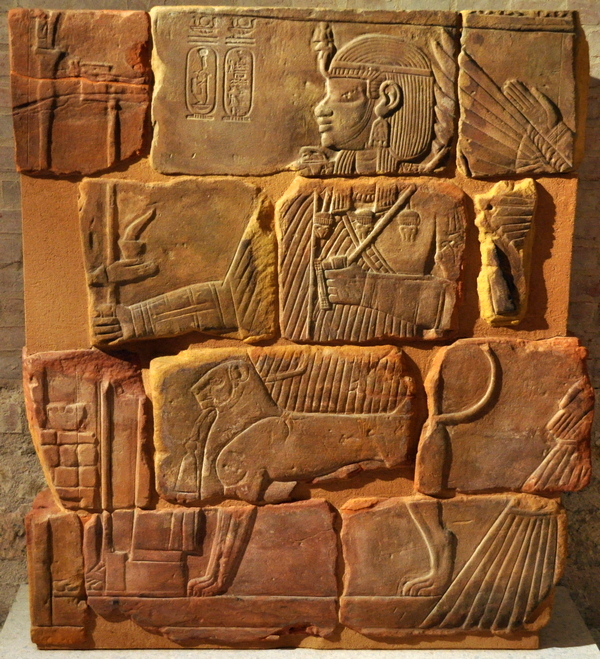 Naqa, Relief of king Amanitenmemide of Meroe