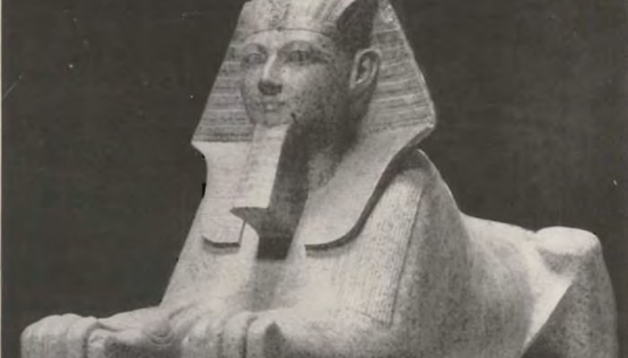 Granite Sphinx of Queen Hatshepsut