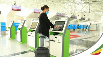 Ethiopian Airlines Debuts First Covid-Era, Contactless Terminal