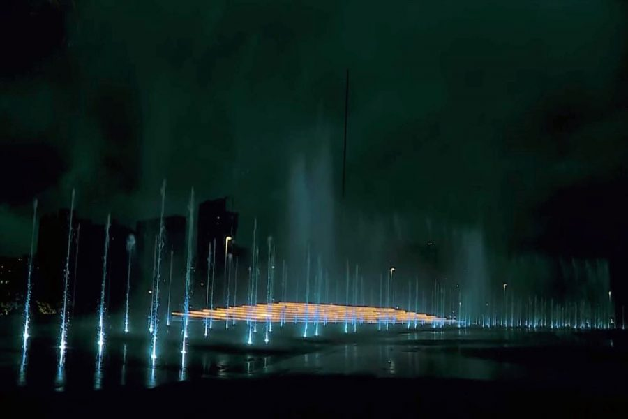 Water Dance Light Fountains-Worqamb-tours-addis-ababa